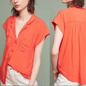 Maeve Short sleeve blouse